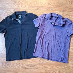 2 Men's Polo Shirts